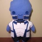Mass Effect Custom Plushies by ViciousPretty! Featuring Garrus, Liara, Tali, Wrex, Legion, & Mordin5