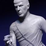 Star Trek, Star Wars, & Street Fighter Sculptures by Chris Vierra (EvilNinjaChris), Featuring Spock, Kirk, Aayla Secura, Ken Masters, & Akuma
