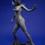 Star Trek, Star Wars, & Street Fighter Sculptures by Chris Vierra (EvilNinjaChris), Featuring Spock, Kirk, Aayla Secura, Ken Masters, & Akuma3