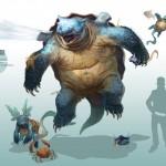 pokemon realistic arvalis RJ Palmer nintendo gamefreak blastoise