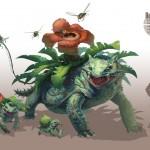 pokemon realistic arvalis RJ Palmer nintendo gamefreak bulbasaur